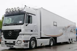 autotransporter vrachtwagen Mercedes-Benz Actros 1848 Renntransporter Racing Lift kpl. Zug 2006