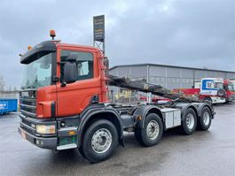 containersysteem vrachtwagen Scania P114 8x4 2005