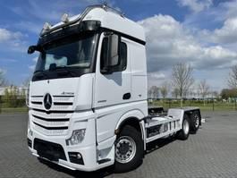 chassis cabine vrachtwagen Mercedes-Benz ACTROS 2558 6x2 EURO 6 RETARDER HYDRAULICS STEERING AXLE