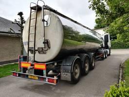 silo oplegger Fruehauf 27000 liters ***INOX*** 1987