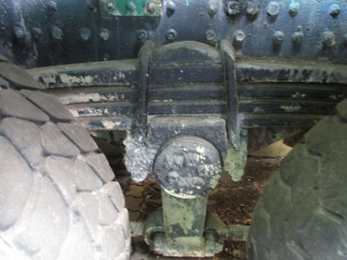 chassis cabine vrachtwagen MAN - 33.292 8x4 - 33.292 8x4, 2X VORHANDEN 1989