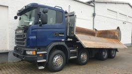 kipper vrachtwagen > 7.5 t Scania G 440 8x4 G 440/8x4, Meiller Bordmatik, Retarder, Schalter 2013