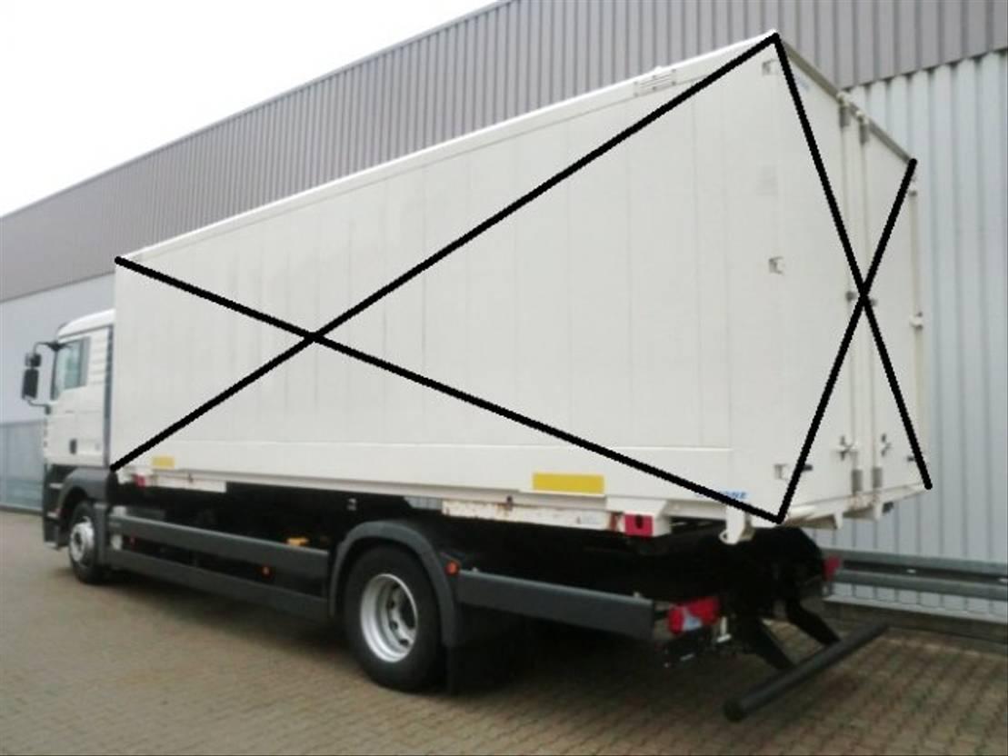 chassis cabine vrachtwagen MAN TGA 18 LL 4x2 TGA 18.350 LL 4x2, Fahrschulausstattung 2006