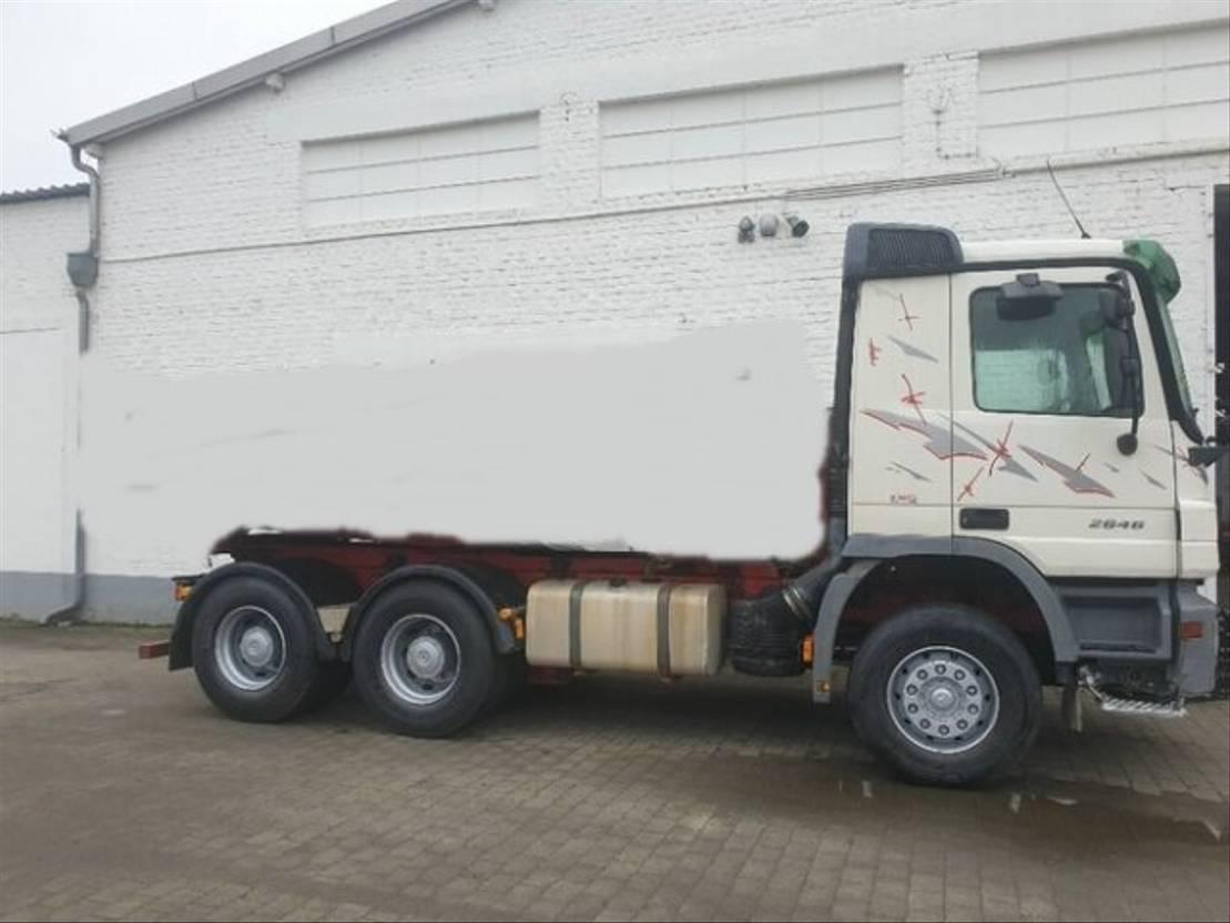 chassis cabine vrachtwagen Mercedes-Benz Actros 2646 L /6x4 Klima/eFH. 2006