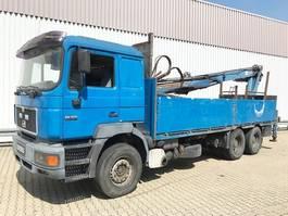 kraanwagen MAN 26.403 DFLC 6x4 BL 26.403 DFLC 6x4 BL, Heckkran Atlas AK 160.1, 6-Zylinder Motor 2002