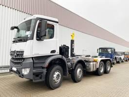 containersysteem vrachtwagen Mercedes-Benz Arocs 4142 K 8x4/4 Arocs 4142 K 8x4/4, Hyva Abroller
