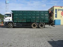 kraanwagen MAN TGA 26 BB 6x4 TGA 26.413 BB 6x4 mit Heckkran Jonsered 1020 2002