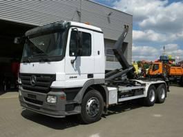 containersysteem vrachtwagen Mercedes-Benz Actros 2641 /6x4 Actros 2641/6x4/42,Meiller RK 2007