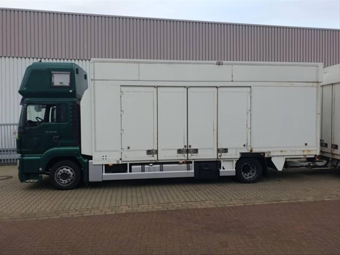 autotransporter vrachtwagen MAN TGS 18 4x2 LL, Nur Komplett als Zug TGS 18.440 4x2 LL, Intarder, Nur Komplett a... 2013