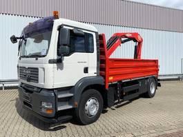 kraanwagen MAN TGA 18 4x2 BL TGA 18.400 4x2 BL Pritsche Heckkran PM17523 2007
