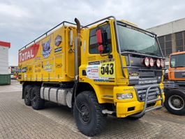 bakwagen vrachtwagen DAF CF 85 FAT 480 6x6 FAT 85 CF 480 6x6 Rallyefahrzeug, Standklima 2002