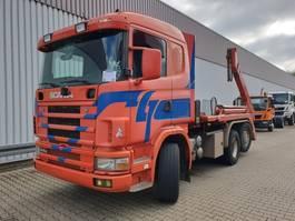 containersysteem vrachtwagen Scania R144 GB 460 6x2/4 NA R144 GB 460 6x2/4 NA, Retarder, Lift-/Lenkachse 2001