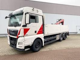 kraanwagen MAN TGX 26 6x4 BL TGX 26.480 6x4 BL mit Heckkran Fassi F195AS, Hochsitz 2014