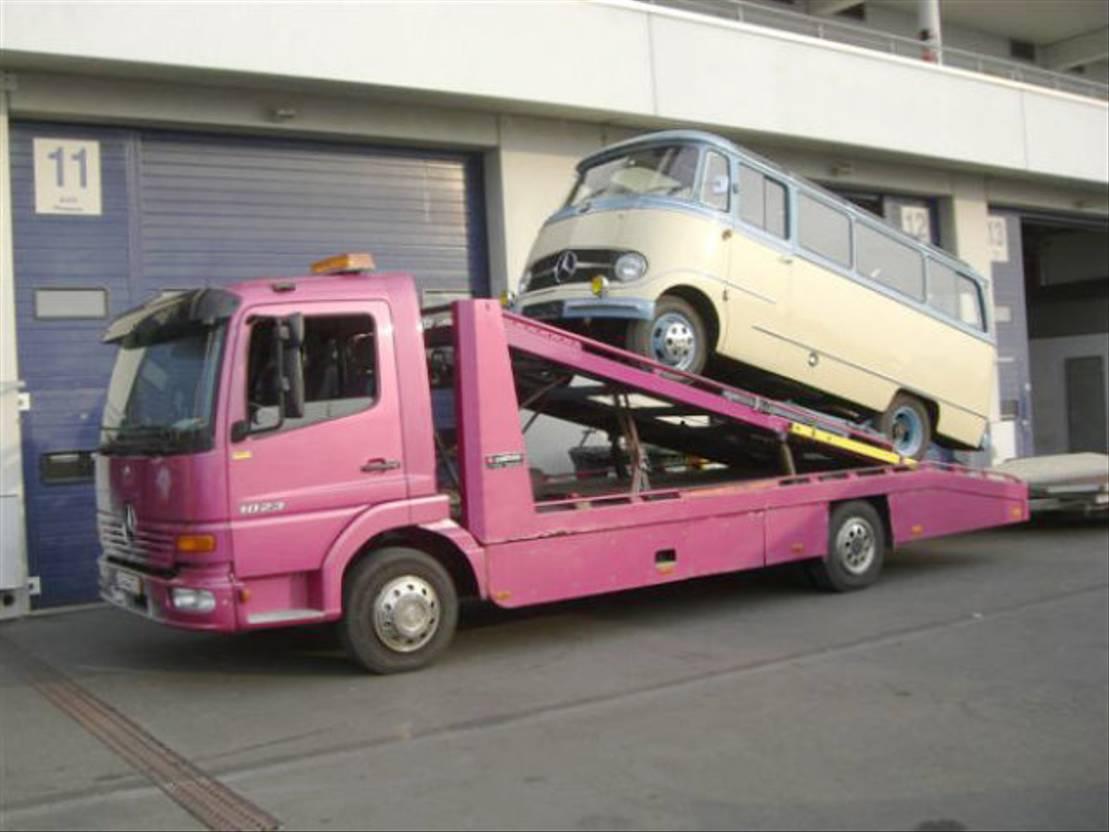 autotransporter vrachtwagen Mercedes-Benz Atego 817 817L 4x2 Atego 817L 4x2, Autotransporter, 2x VORHANDEN! 1999