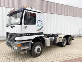 chassis cabine vrachtwagen Mercedes-Benz Actros 3343 6x6 Actros 3343 6x6 Sitzhzg./eFH. 1999