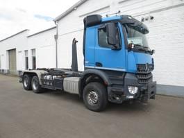 containersysteem vrachtwagen Mercedes-Benz Arocs 3345 /6x4 Arocs 3345/6x4/4, Meiller RK 20.65, Widi 2014
