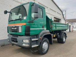 kipper vrachtwagen > 7.5 t MAN TGM 18 BB/4x4 TGM 18.290 BB/4x4, Meiller 3-Seiten 2013