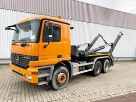 containersysteem vrachtwagen Mercedes-Benz Actros 2640 6x4 Actros 2640 6x4, Meiller Teleabsetzer, Grüne Plakette 1999