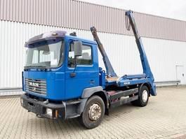 containersysteem vrachtwagen MAN 18.284 4x2 BB 18.284 4x2 BB Tele-Absetzer eFH. 1999