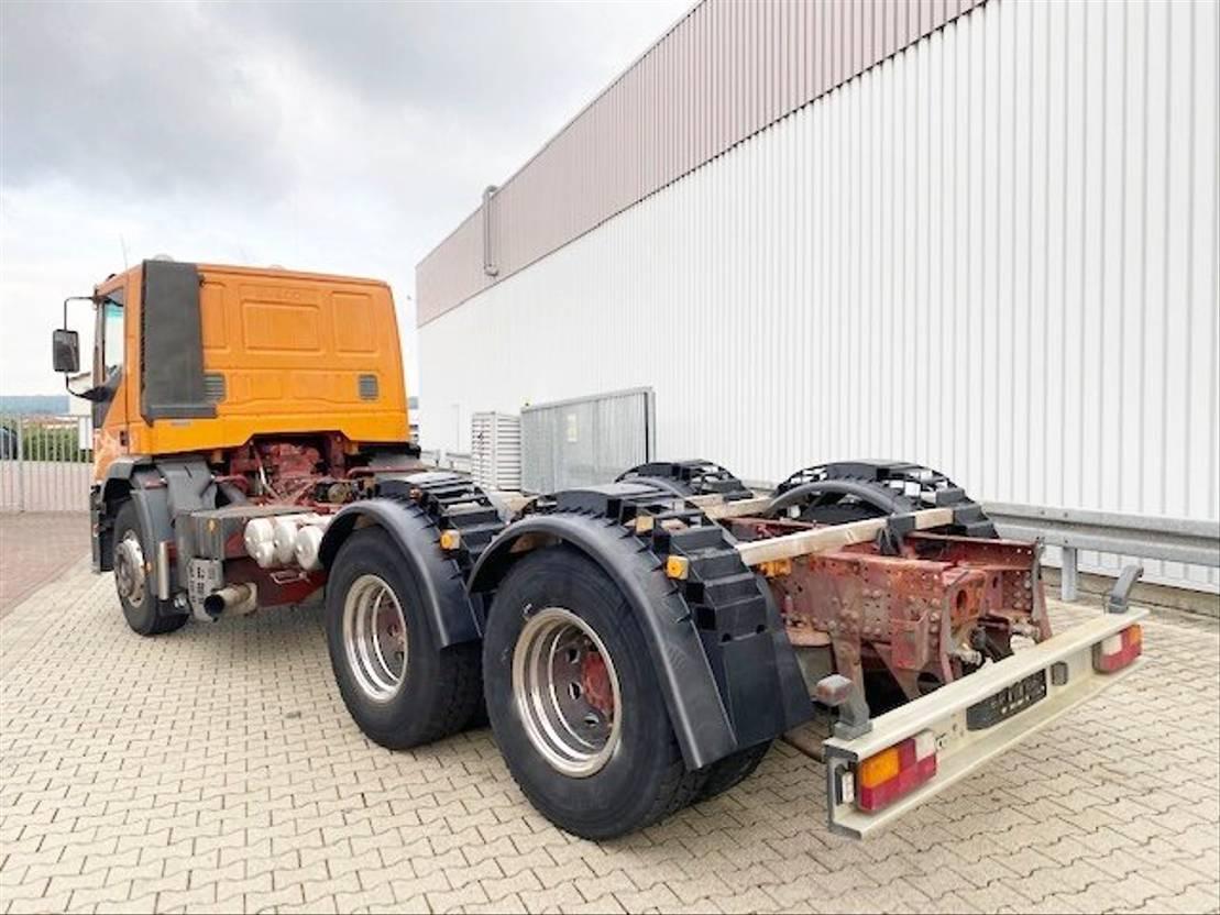 chassis cabine vrachtwagen Diversen Andere EuroTech 260E42 6x4 EuroTech 260E42 6x4 Sitzhzg. 1995