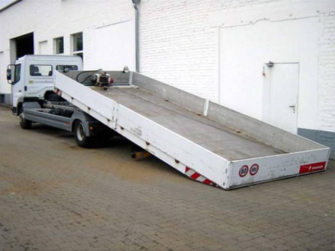 autotransporter vrachtwagen Mercedes-Benz Atego 817 817L 4x2 Atego 817L 4x2, Autotransporter, 2x VORHANDEN! 2002
