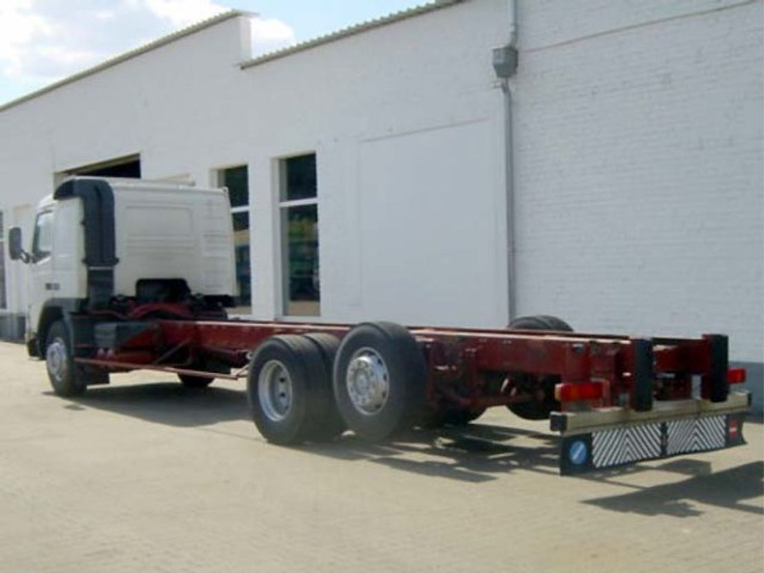 chassis cabine vrachtwagen Diversen Andere FM 12-340 6x2 Tempomat/eFH./Umweltplakette Rot 1999