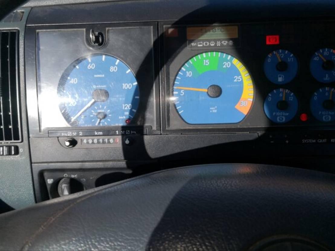 chassis cabine vrachtwagen Mercedes-Benz Atego 1523 4x2 1999