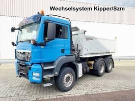 standaard trekker MAN TGS 26 6x4 BL TGS 26.440 6x4 BL, Intarder, Wechselsystem, Kipper/SZM 2009
