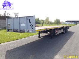 container chassis oplegger General Trailers Container Transport 2002