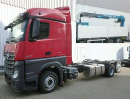 kraanwagen Mercedes-Benz Actros 2545 L 6x2 Actros 2545 L 6x2 mit Kran, Retarder