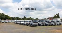 chassis cabine vrachtwagen Mercedes-Benz Atego 818 L 4x2 Atego 818 L 4x2, 144 x VORHANDEN!