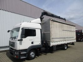 kraanwagen MAN TGL 12 BL 4x2 TGL 12.240BL 4x2, mit Kran Hiab 088 mit Funk 2007