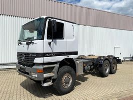 chassis cabine vrachtwagen Mercedes-Benz Actros 3343 AK 6x6 Actros 3343 AK 6x6 Klima/eFH. 2001