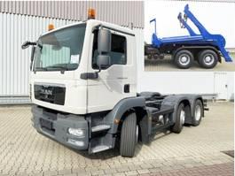 containersysteem vrachtwagen MAN TGM 26 .250/290 6x2/4 BL TGM 26.250/290 6x2/ mit Vorlauf-Lift-/Lenkachse, 6-Zyl...