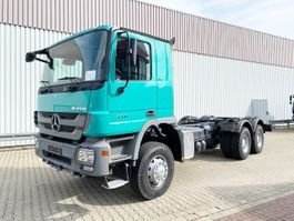chassis cabine vrachtwagen Mercedes-Benz Actros 3341 A 6x6 Actros 3341 A 6x6, MP3 Klima