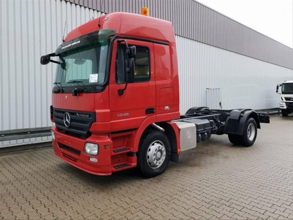 chassis cabine vrachtwagen Mercedes-Benz Actros 1848 4x2 Actros 1848 4x2 Standheizung/NSW