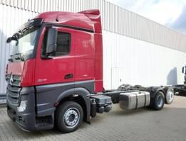 chassis cabine vrachtwagen Mercedes-Benz Actros 2545 L 6x2 Actros 2545L 6x2 Fahrgestell mit Retarder,Voll-Luft gefedert