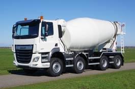 betonmixer vrachtwagen DAF CF 430 CF FAD 8x4 WSG 43-ton met Mulder 12 m3 betonmixer 2021