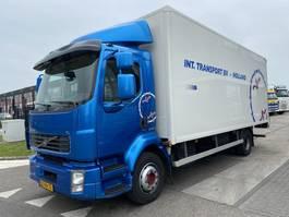 bakwagen vrachtwagen Volvo FL 240 EEV 4X2 + LAADKLEP 2012