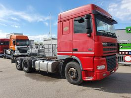 chassis cabine vrachtwagen DAF XF95 480 6x2 euro3 manual