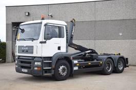 containersysteem vrachtwagen MAN TGA 28.360  6X2 CONTAINER SYSTEEM- CONTAINER SISTEEM- CONTAINER HAAKSYSTEEM- SYSTEME CONTENEUR 2006