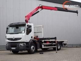 kraanwagen Renault Premium Lander 270 DXI 15 TM Kraan, Crane, Kran, Grue - Manuel - Euro 5 2012