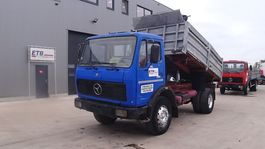 kipper vrachtwagen > 7.5 t Mercedes-Benz SK 1632 (GRAND PONT / LAMES / 4X4 / BIG AXLE / STEEL SUSPENSION) 1981
