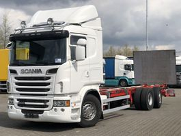 chassis cabine vrachtwagen Scania R560-V8 6X2*4 CHASSIS 5.50 WIELBASIS RETARDER 2013