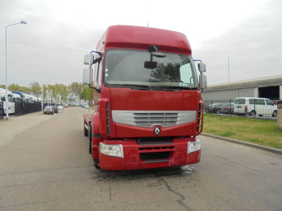 autotransporter vrachtwagen Renault 410 DXI (WINCH - MANUAL GEARBOX - AIRCO)