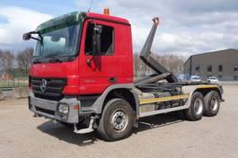containersysteem vrachtwagen Mercedes-Benz Actros 3344 3344 K - 6x4 - WIELBASIS 3.85 m - AJK HAAK - EURO 4 - PERFECTE STAAT