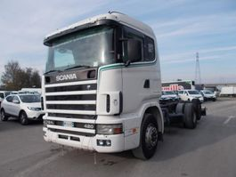 chassis cabine vrachtwagen Scania R 124 LB6X2*4 NA 420 2000