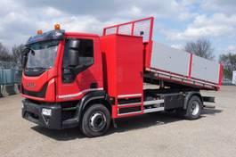 kipper vrachtwagen > 7.5 t Iveco 150 E 25 EUROCARGO 150 E 25 - 4x2 - 22.001 Km - EURO 6 - KIPPER MET RAMPEN EN GEREDSCHAPKIST