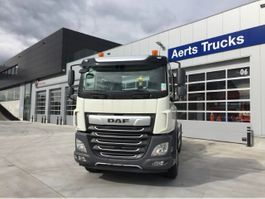 containersysteem vrachtwagen DAF CF 450 FAN 6x2 Road - Day Cab - TraXon - Motor PTO 13u - Hyva Containersysteem ... 2021