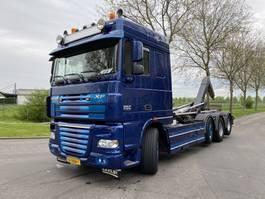 containersysteem vrachtwagen DAF FAK XF105-460 8X2 EURO 5 2012